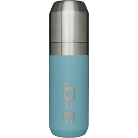 360° degrees Vacuum Insulated Stainless Flask with Pour Through Cap 750ml, turquoise
